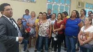 Sindicato APEOC aciona Ministério Público contra Prefeitura de Caridade