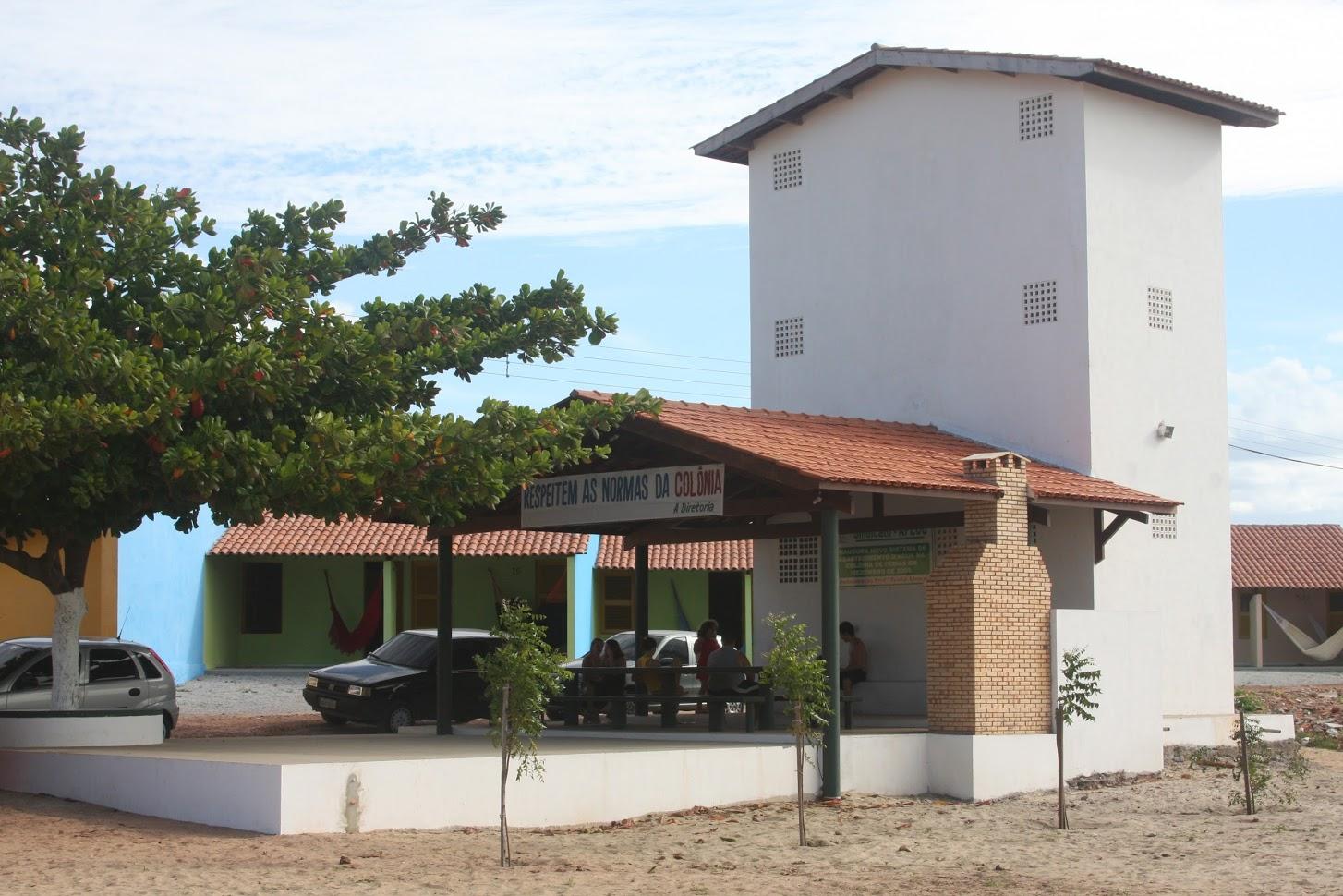 casas na praia do Pecém