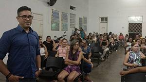 Sindicato APEOC se reúne com professores de Ipu