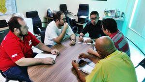 Pacajus: direção do Sindicato APEOC se reúne com Comissão Municipal
