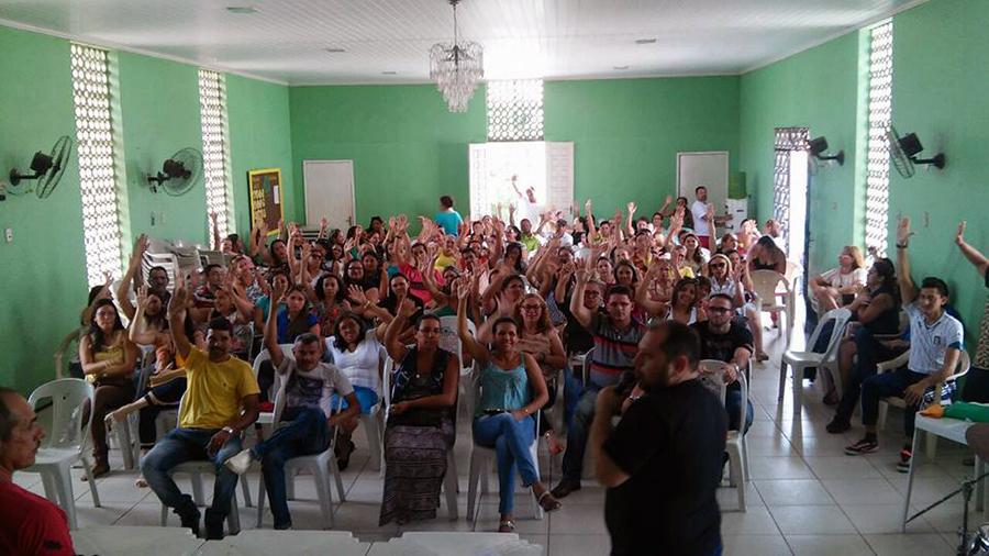 Chorozinho: professores e servidores da Educação aprovam em assembleia negociação com Prefeitura