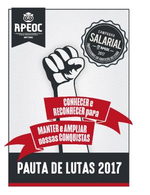 Pauta de Lutas 2017 (Campanha Salarial)