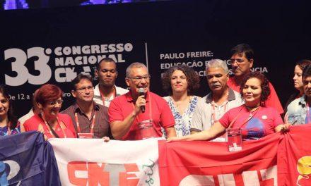 Dirigentes do Sindicato APEOC compõem nova diretoria da CNTE
