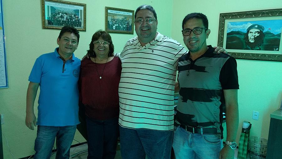 Diretor de Sindicato do Rio visita APEOC para compartilhar experiência de luta