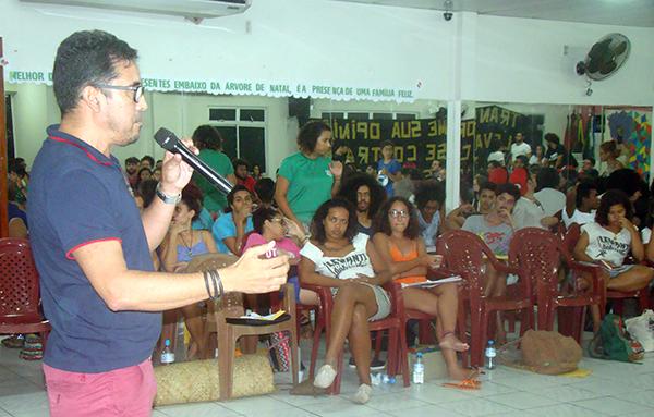 Sindicato APEOC acolhe encontro nacional do Levante Popular da Juventude