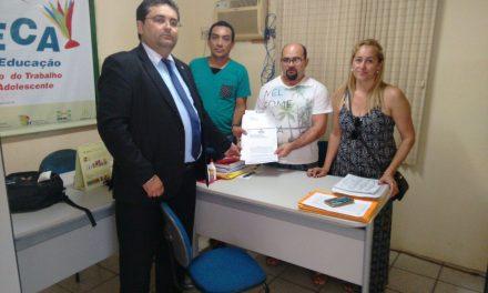 Ocara: Sindicato APEOC participa de reunião com Secretário de Educação