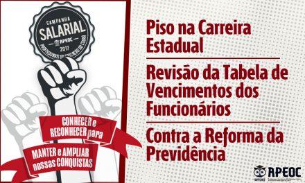 Campanha Salarial: 20 escolas em Fortaleza serão visitadas no Projeto Chão da Escola