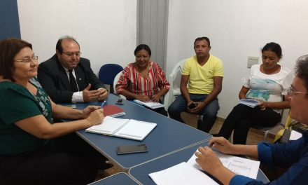 Solonópole: Sindicato APEOC tem audiência com secretária da Educação e encaminha reivindicações