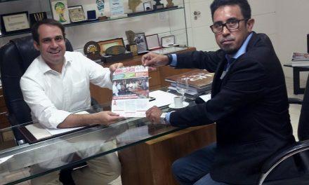 Sindicato APEOC têm audiência com presidente da Câmara dos Vereadores de Fortaleza