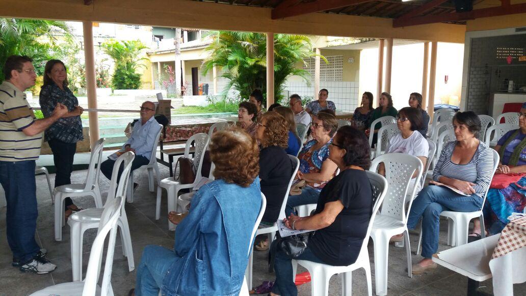 Sindicato APEOC tem reunião com aposentados de Ipu e Viçosa