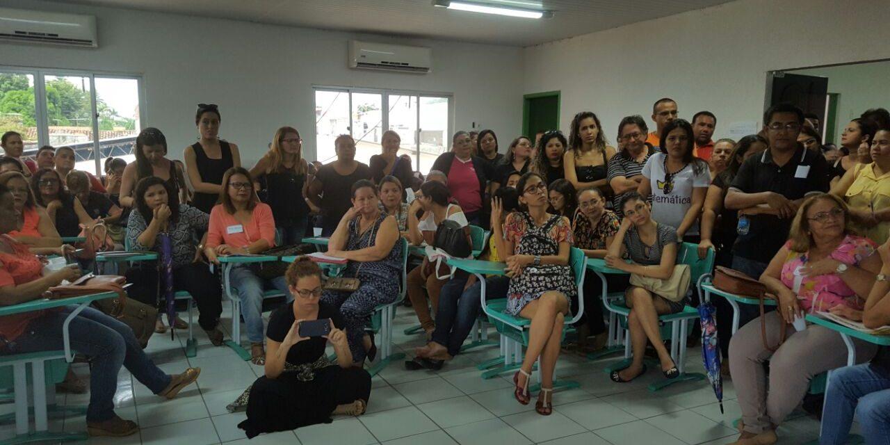 Pacatuba: Sindicato APEOC apoia ato de professores