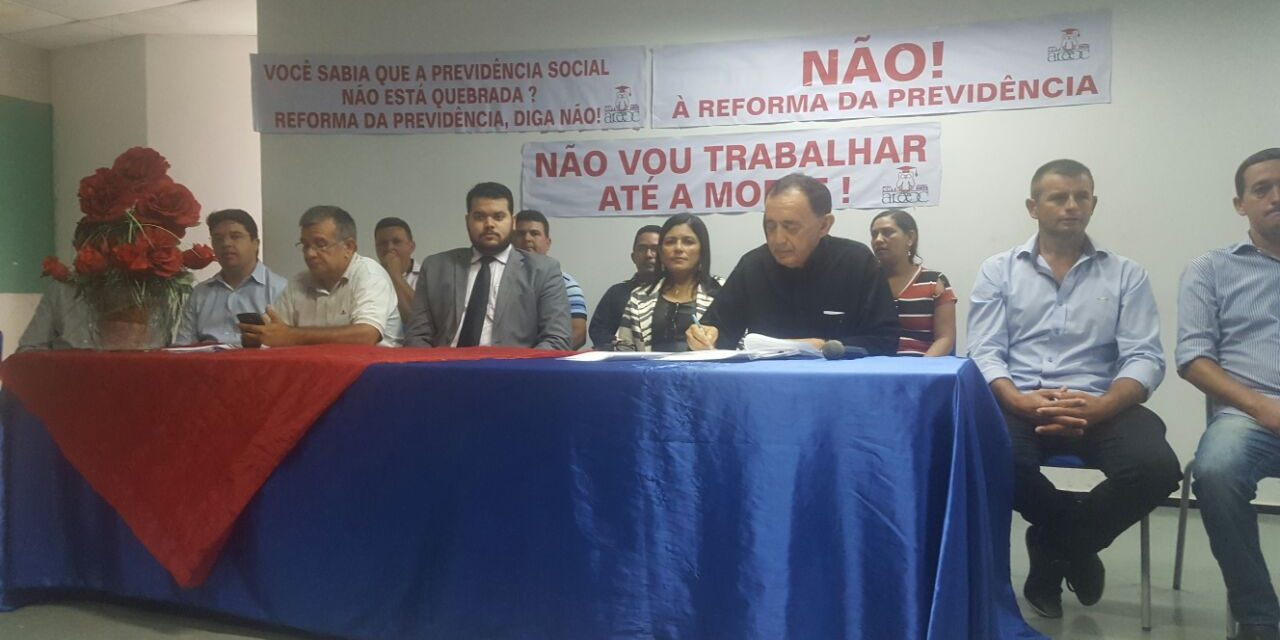 Pereiro: Sindicato APEOC promove audiência sobre Reformas da Previdência e Trabalhista