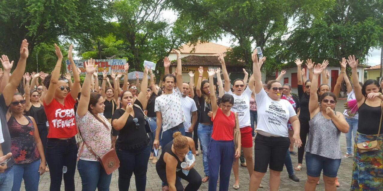 Pacatuba: Professores cobram reajuste e marcam nova Assembleia Geral