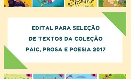 Abertas inscrições para concurso de Literatura Infantil do Mais PAIC