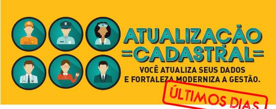 Atualização cadastral dos servidores da Prefeitura de Fortaleza termina dia 31/05