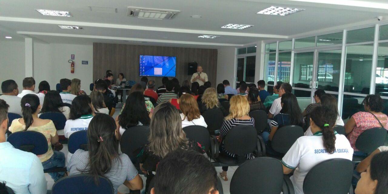 São Gonçalo: Sindicato APEOC cobra resultados orçamentários em audiência com a Prefeitura