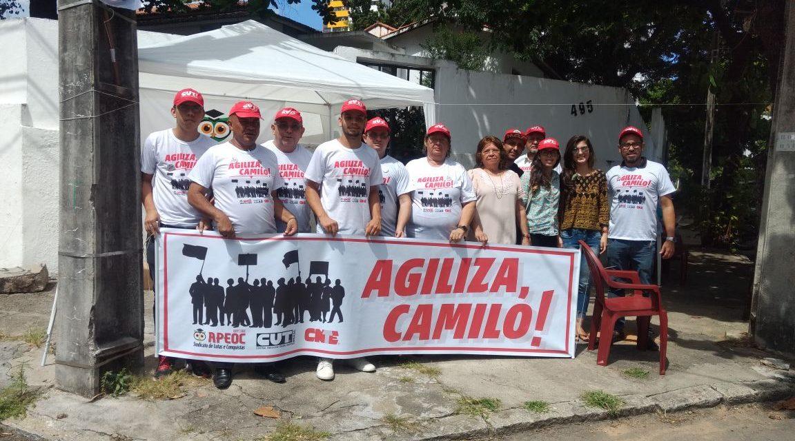 Agiliza, Camilo! Movimento arranca compromisso de envio da Mensagem até sexta (09)