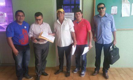 Sindicato APEOC participa de audiências em Catarina e Tauá