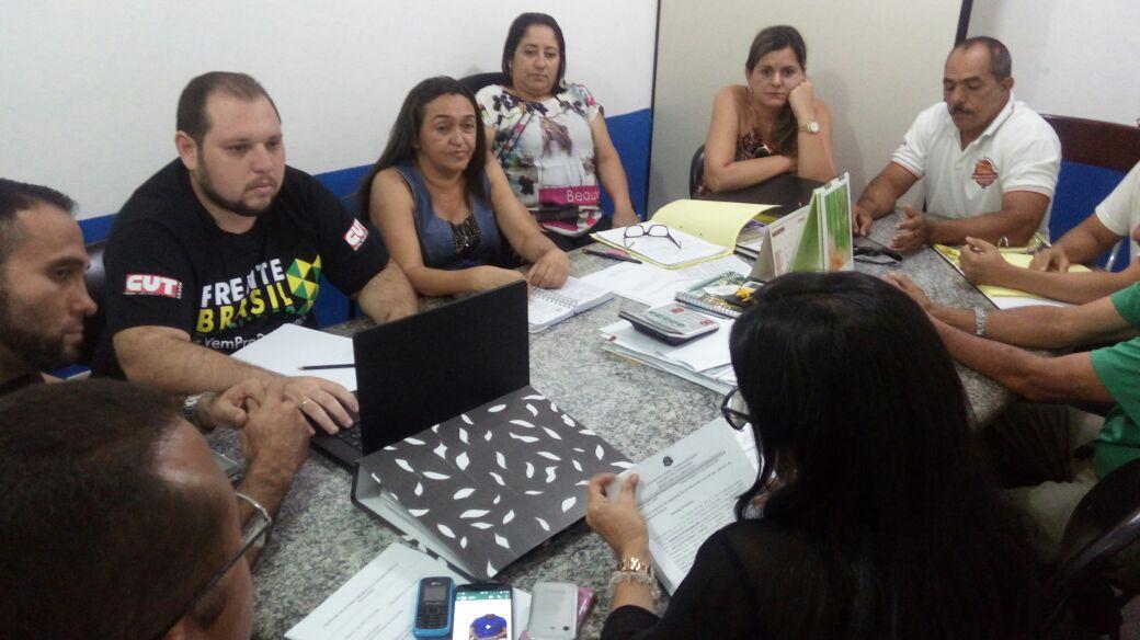 Chorozinho: Comissão Municipal tem agenda intensa de interesse dos profissionais da Educação