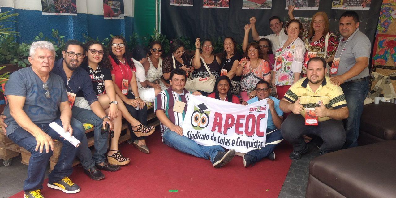 Sindicato APEOC defende pauta da Educação em Congresso da CUT-CE