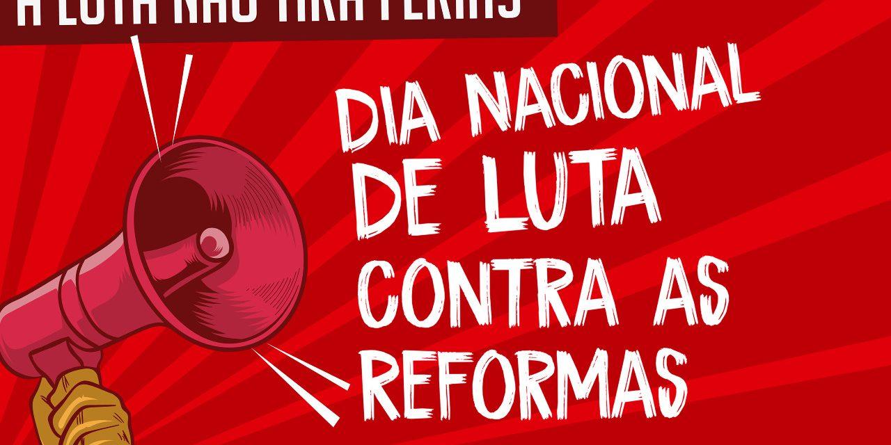 Sexta (30): Dia Nacional de Luta contra as Reformas