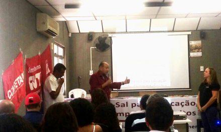 Sindicato APEOC participa do Curso de Formação da Plataforma Operária e Camponesa de Energia