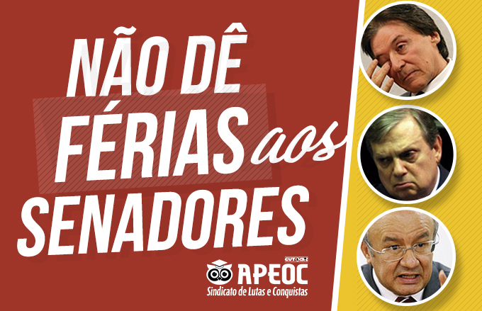Sindicato APEOC na luta contra as Reformas Malditas