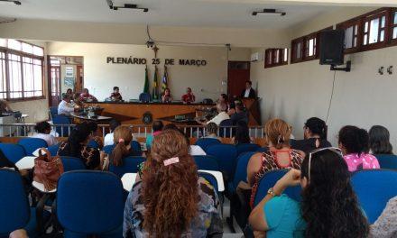Paracuru: Sindicato APEOC participa de audiência pública na Câmara Municipal
