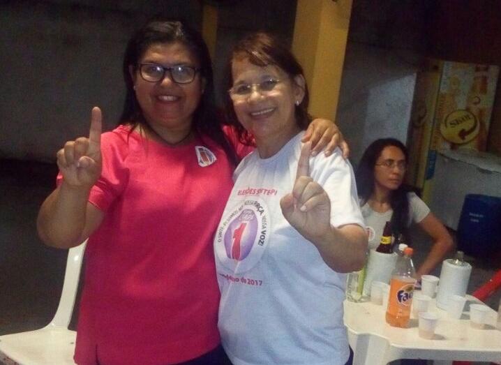 Sindicato APEOC parabeniza chapa vencedora na eleição do Sinte-PI