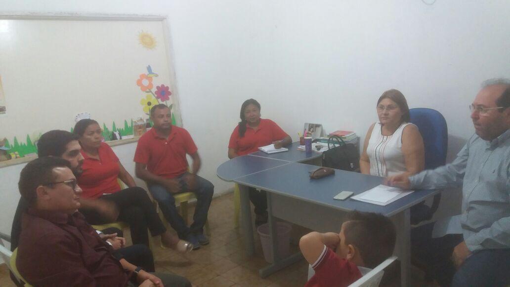 Solonópole: Audiência com Secretaria da Educação encaminha pleitos da categoria