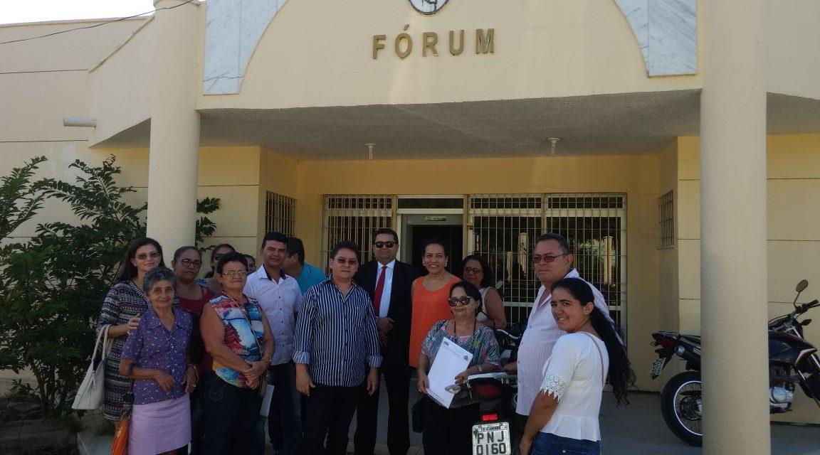 Caridade: Prefeita não comparece a audiência de conciliação