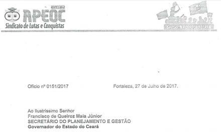 Casa própria em consignado: Sindicato APEOC cobra audiência com Seplag
