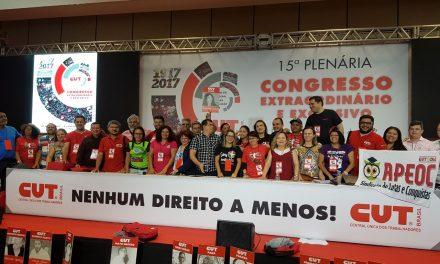 Sindicato APEOC aprova tese do Novo FUNDEB em Congresso Nacional da CUT