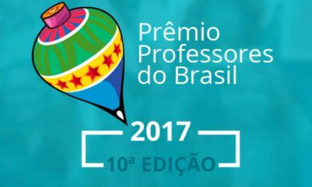 Inscrições para o Prêmio Professores do Brasil vão até dia 25/08