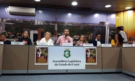 Diretoria do Sindicato APEOC participa de audiência sobre Paulo Freire na AL