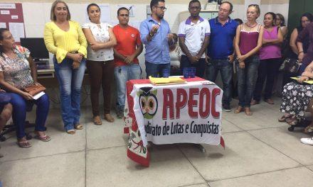 Baixio: Comissão Municipal do Sindicato APEOC é eleita