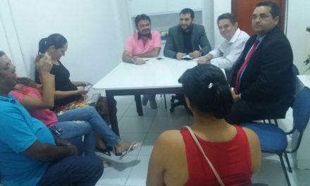 Maranguape: Sindicato APEOC participa de audiência na Secretaria de Educação