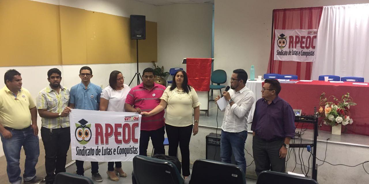Parambu: Eleita e empossada Comissão Municipal do Sindicato APEOC