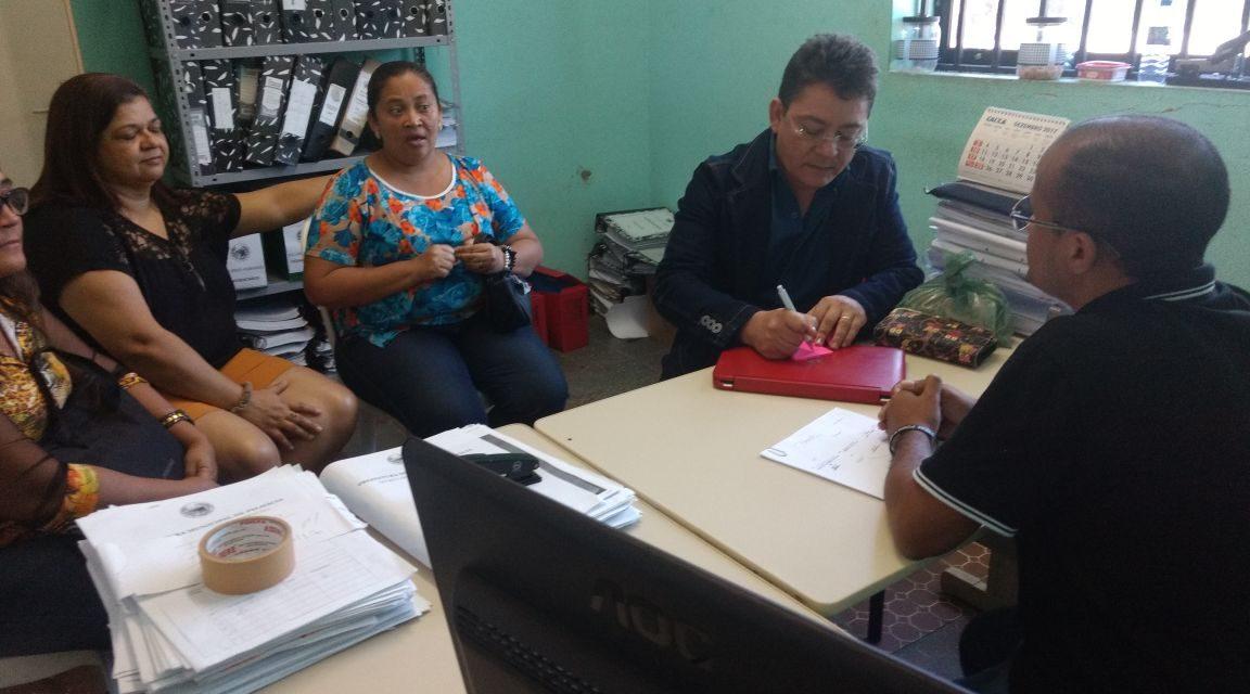 Palmácia: Sindicato APEOC tem agenda intensa de interesse dos profissionais da Educação