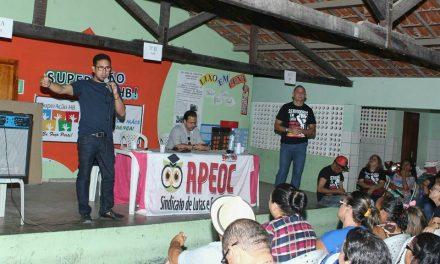 Anizio Melo cumpre agenda de luta no interior do Ceará