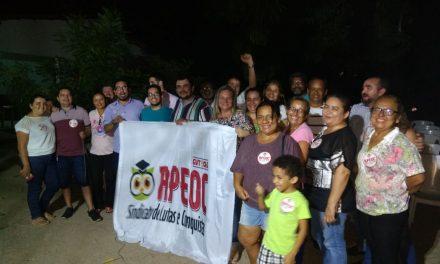 Itaitinga: Sindicato APEOC realiza Dia D de mobilização