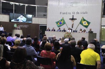 Assembleia Legislativa homenageia Anizio Melo pelo Dia do Professor