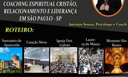 Excursão Espiritual, Relacionamento e Liderança para São Paulo
