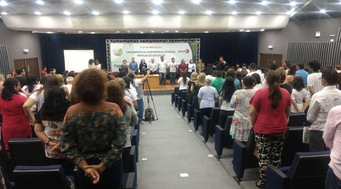 Lançada Conferência Estadual Popular da Educação do Ceará