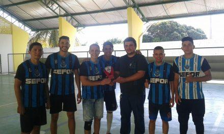 Equipe Sefor é bicampeã na 2ª etapa do torneio Mestres no Esporte
