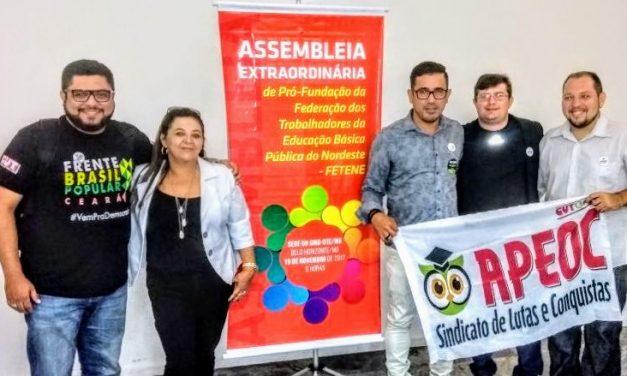 Anizio Melo é eleito presidente da Federação dos Trabalhadores em Educação do NE