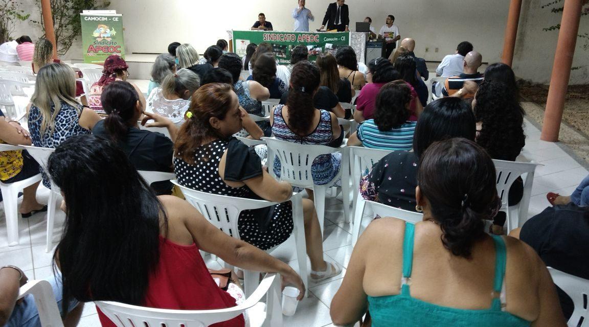 Camocim: Sindicato APEOC promove Assembleia sobre precatório do Fundef