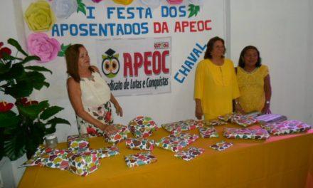 Chaval: Sindicato APEOC realiza jantar para aposentados