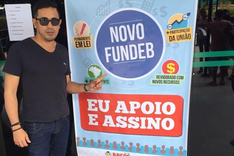 Sindicato APEOC realiza mobilização em defesa do Novo Fundeb