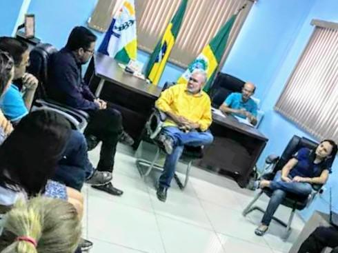 Nova Olinda: Anizio Melo tem audiência com prefeito sobre precatório do Fundef